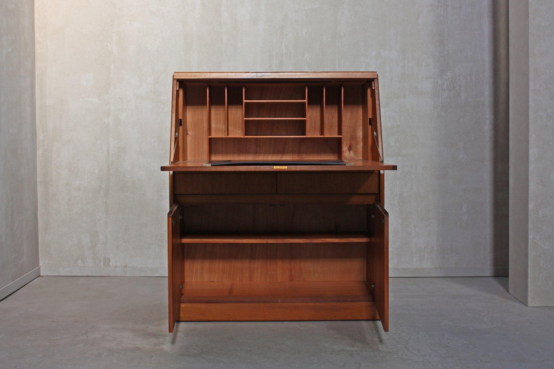 englischer mid century teak sekret r von remploy 1960er bei pamono kaufen. Black Bedroom Furniture Sets. Home Design Ideas