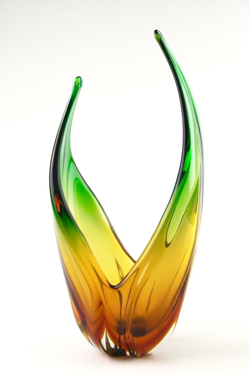 Murano Glass Vase 1950s For Sale At Pamono