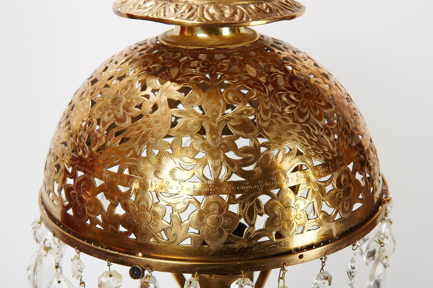 Vintage Crystal U0026 Brass Table Lamp 7. $2,398.00. Price Per Piece