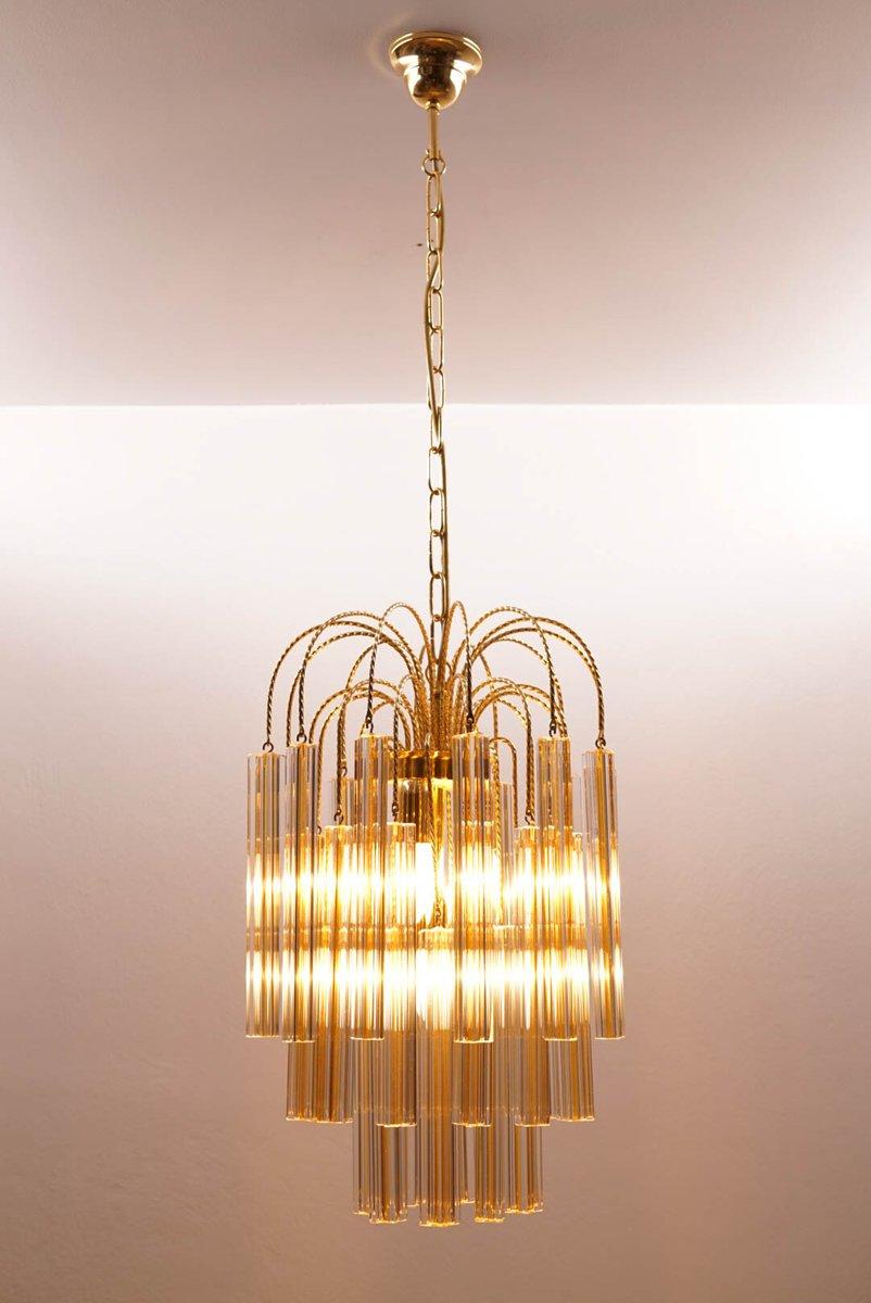vintage kronleuchter von murano glas von venini bei pamono kaufen. Black Bedroom Furniture Sets. Home Design Ideas