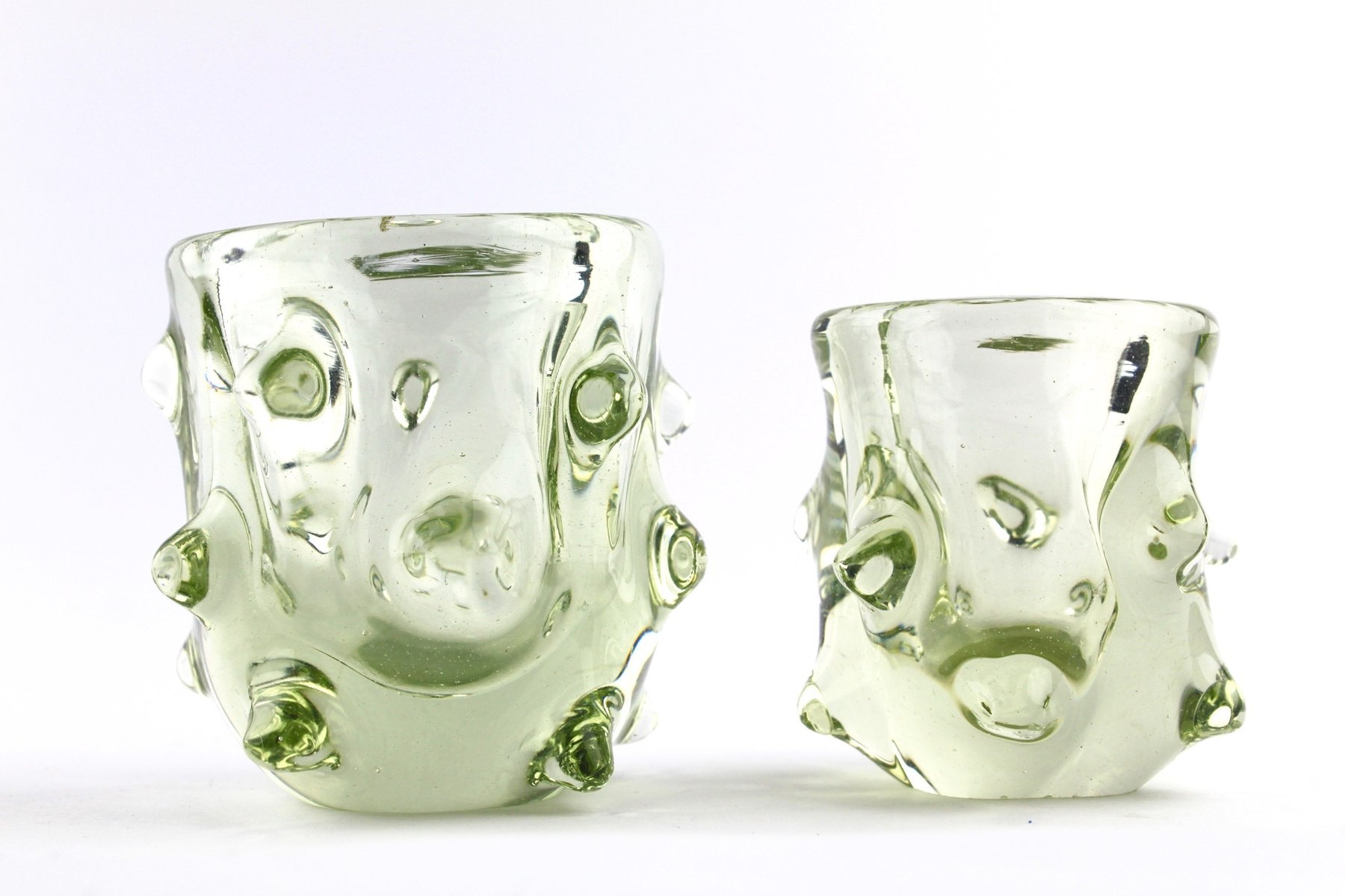 Small murano glass vases 1960s set of 2 for sale at pamono small murano glass vases 1960s set of 2 floridaeventfo Image collections