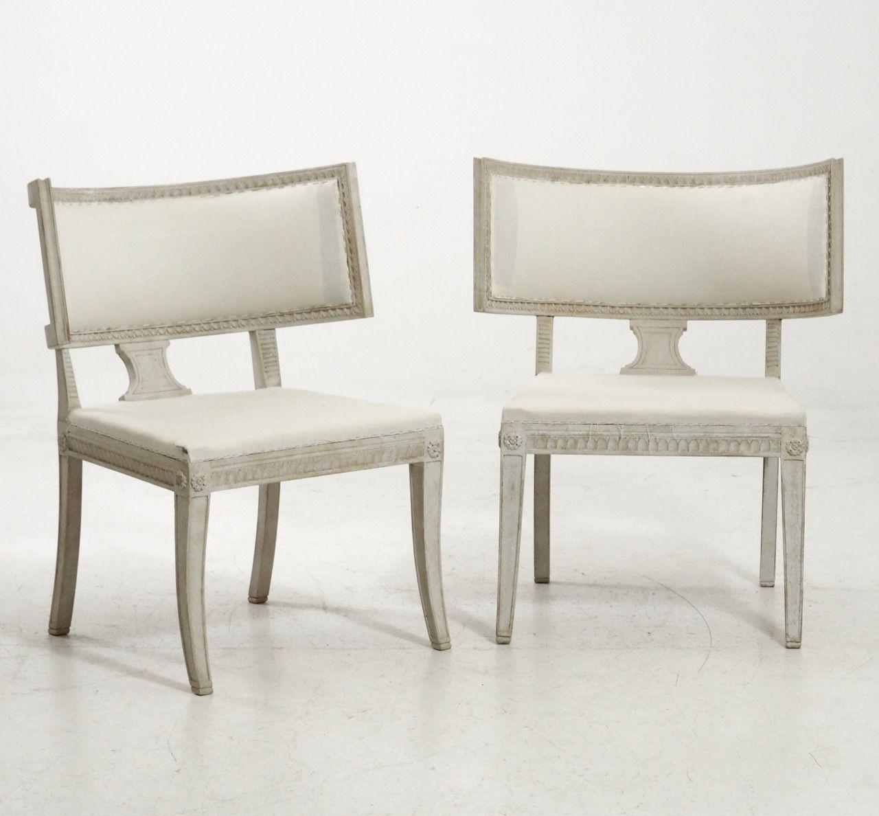 antike st hle mit gebogenen r ckenlehnen 2er set bei. Black Bedroom Furniture Sets. Home Design Ideas