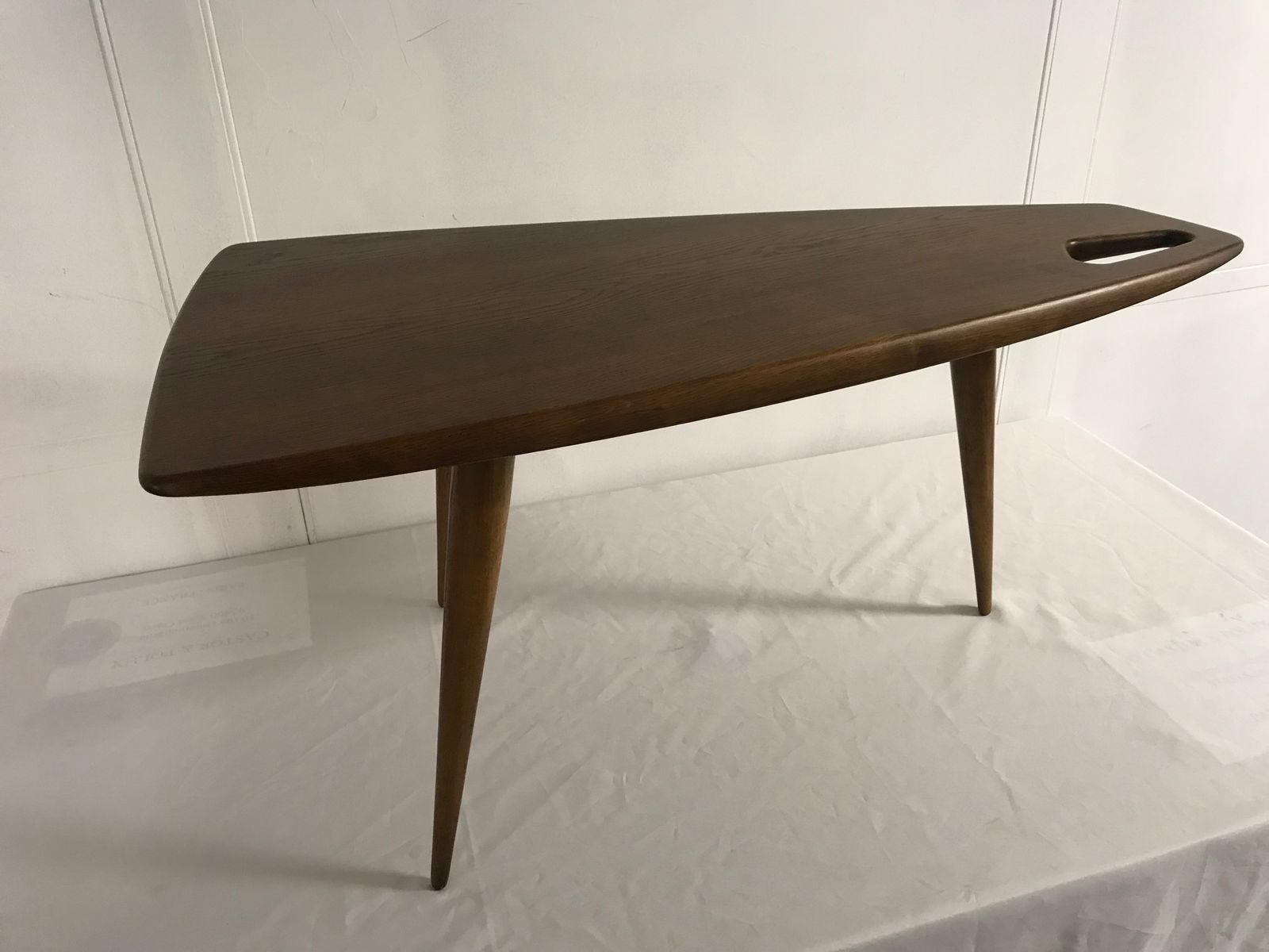 Table Basse en Noyer par Pierre Cruège, France, 1950s en vente sur ...
