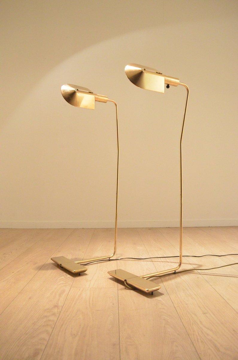 messing stehlampe von cedric hartman 1970er bei pamono kaufen. Black Bedroom Furniture Sets. Home Design Ideas