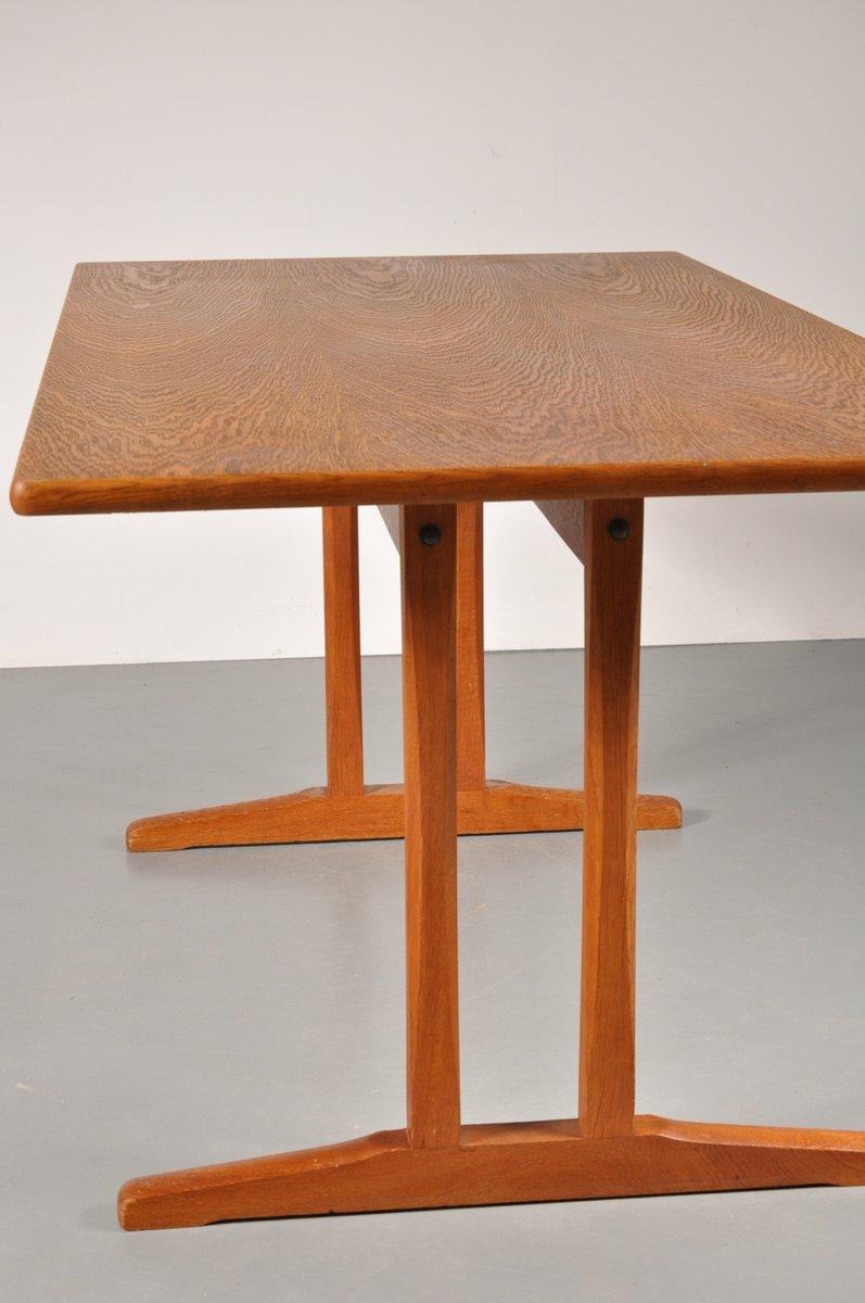 skandinavischer shaker esstisch von borge mogensen f r fdb. Black Bedroom Furniture Sets. Home Design Ideas