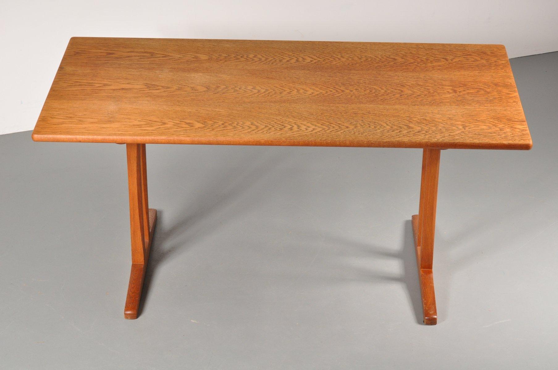 skandinavischer shaker esstisch von borge mogensen f r fdb 1960er bei pamono kaufen. Black Bedroom Furniture Sets. Home Design Ideas