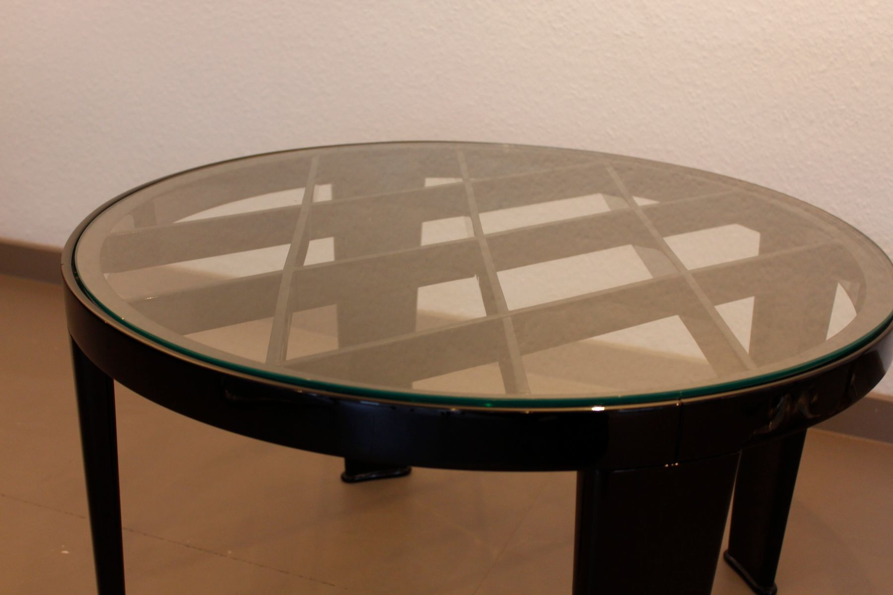 Vintage art deco coffee table for sale at pamono - Deco table vintage ...