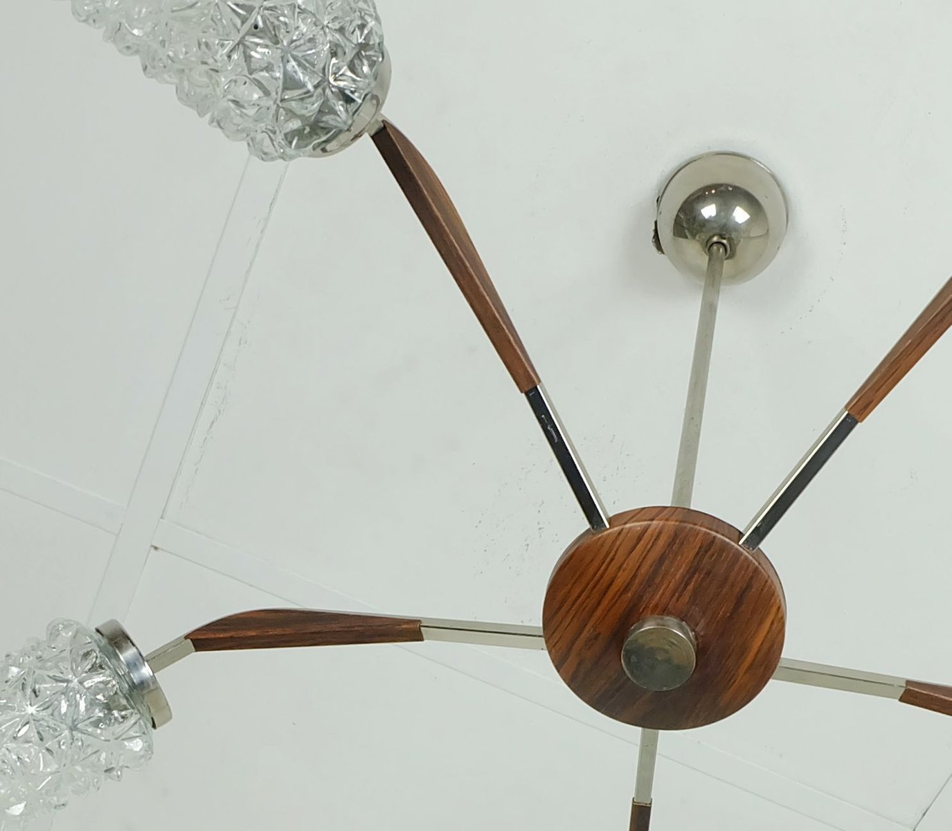 vintage kronleuchter 1950er bei pamono kaufen. Black Bedroom Furniture Sets. Home Design Ideas