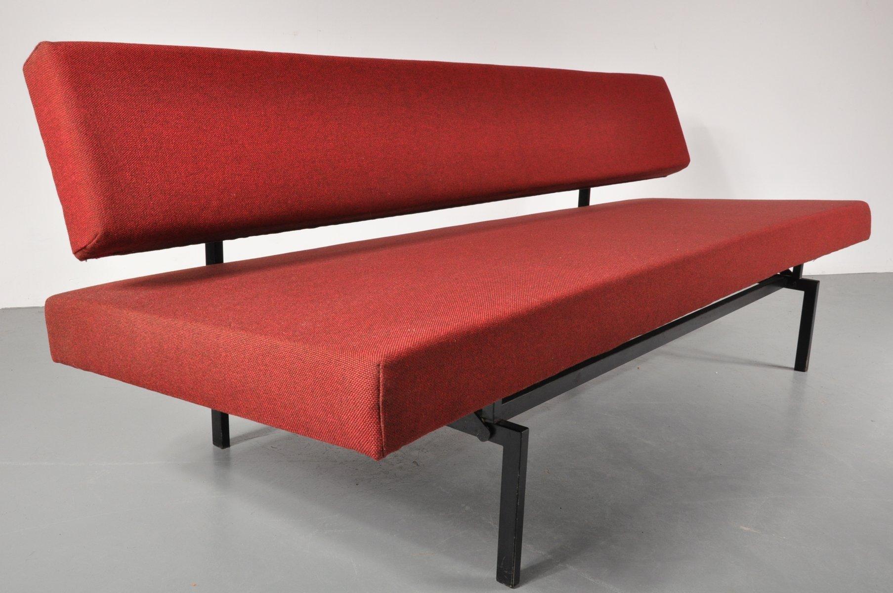 dutch sleeping sofa by gijs van der sluis for gispen 1950s for sale at pamono. Black Bedroom Furniture Sets. Home Design Ideas