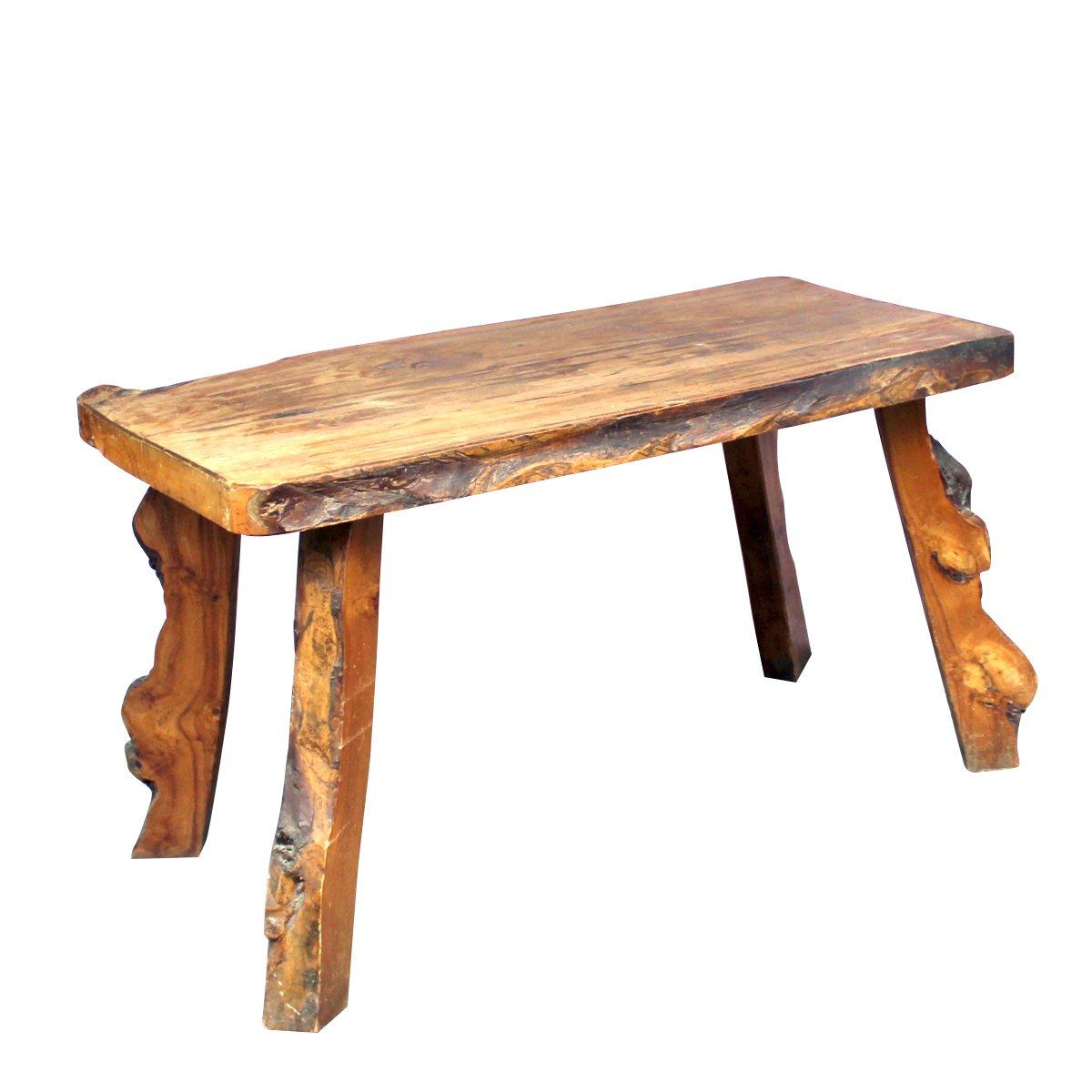 solider ulmenholz vintage tisch bei pamono kaufen. Black Bedroom Furniture Sets. Home Design Ideas
