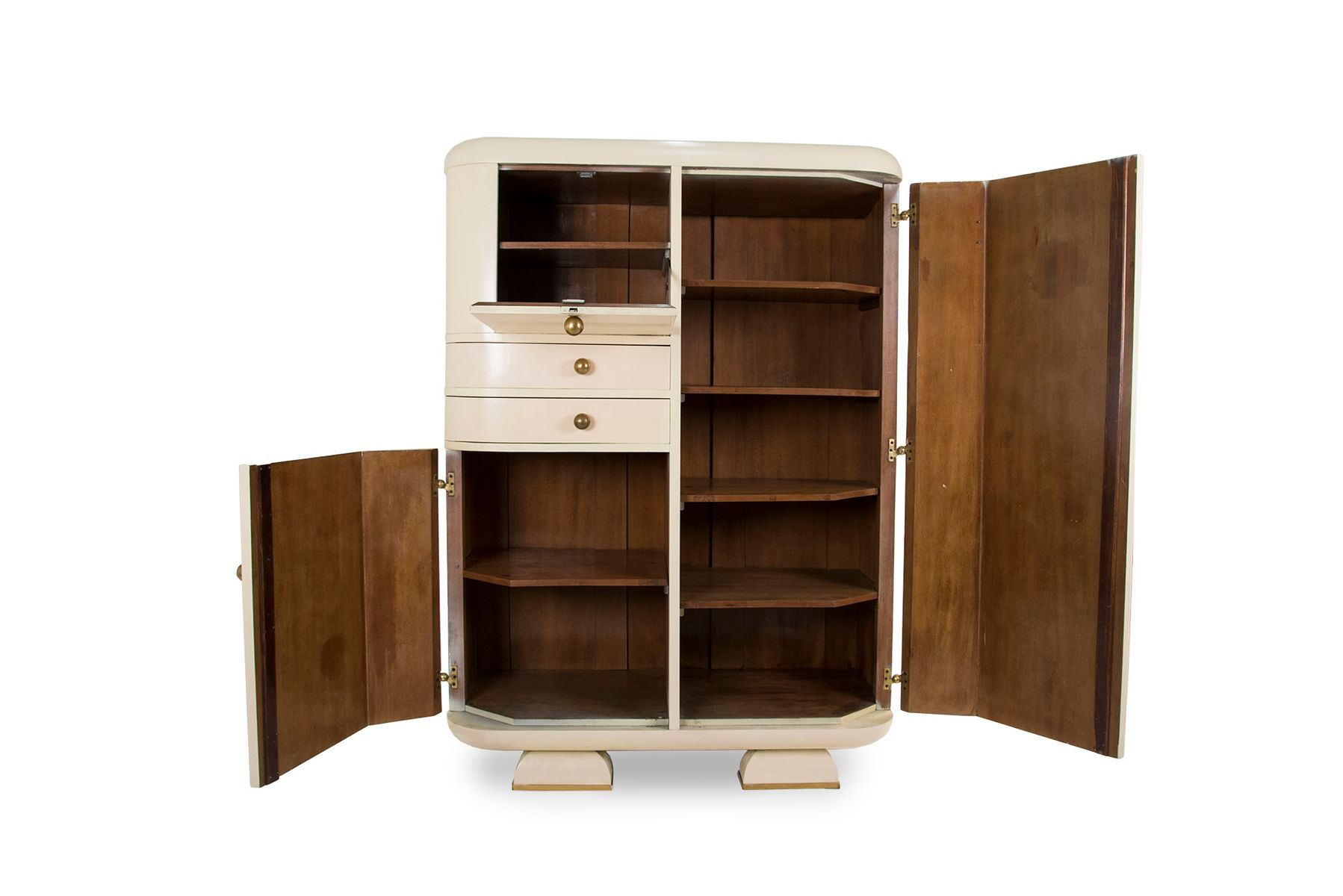 vintage kleiderschrank 1930er bei pamono kaufen. Black Bedroom Furniture Sets. Home Design Ideas