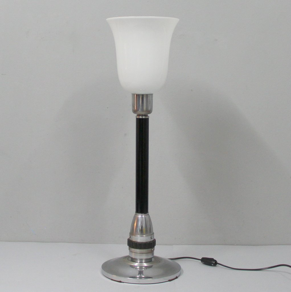 French Art Deco Table Lamp 1940s