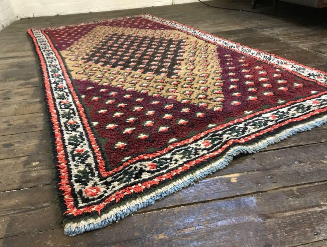 marokkanischer vintage berber beni ouarain shag. Black Bedroom Furniture Sets. Home Design Ideas