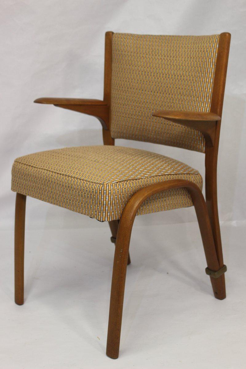 armchair by wilhem von bode for steiner 1950s for sale at. Black Bedroom Furniture Sets. Home Design Ideas
