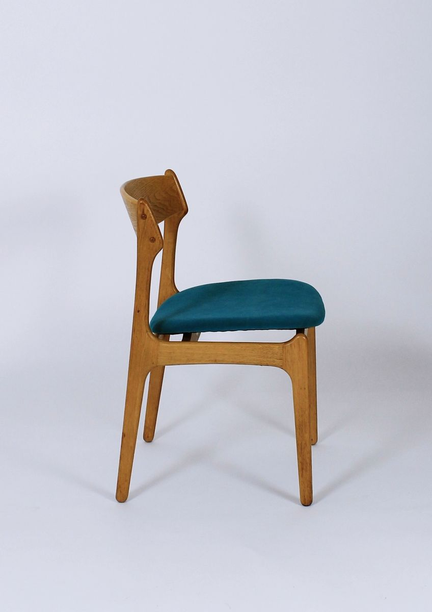 Model 49 Dining Chairs by Erik Buch for O D M¸bler Set of 5 for