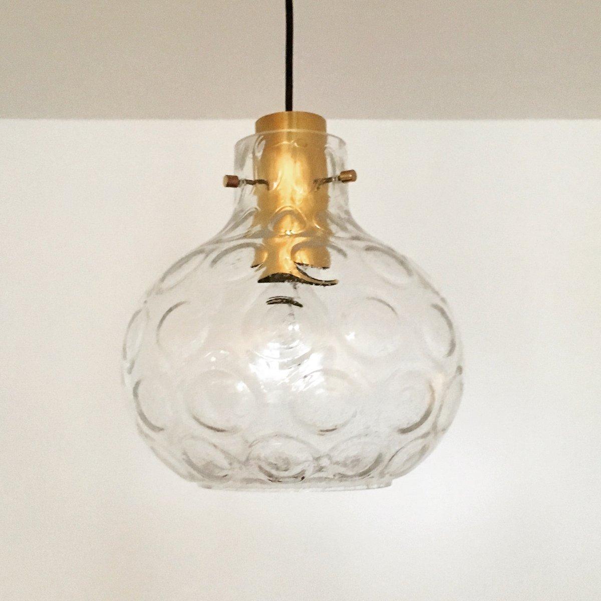 bubble glas h ngelampe von limburg 1960er bei pamono kaufen. Black Bedroom Furniture Sets. Home Design Ideas