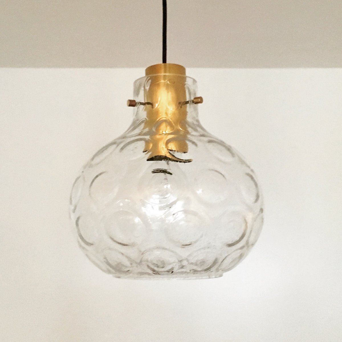 Bubble glass pendant lamp from limburg 1960s for sale at pamono bubble glass pendant lamp from limburg 1960s audiocablefo