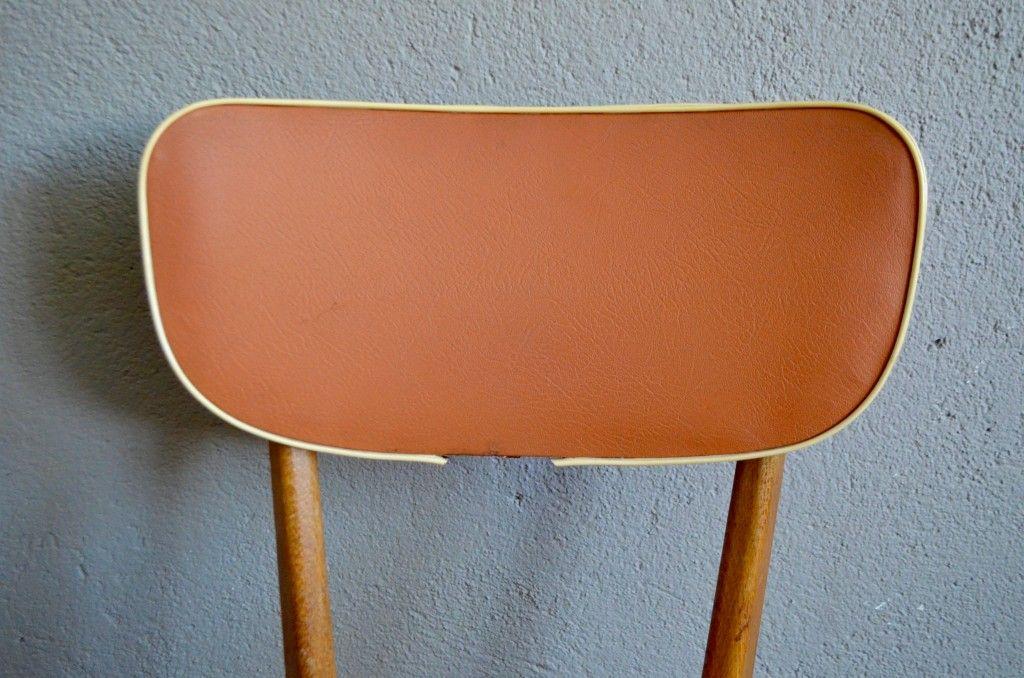 franz sische esszimmerst hle 1950er 6er set bei pamono kaufen. Black Bedroom Furniture Sets. Home Design Ideas