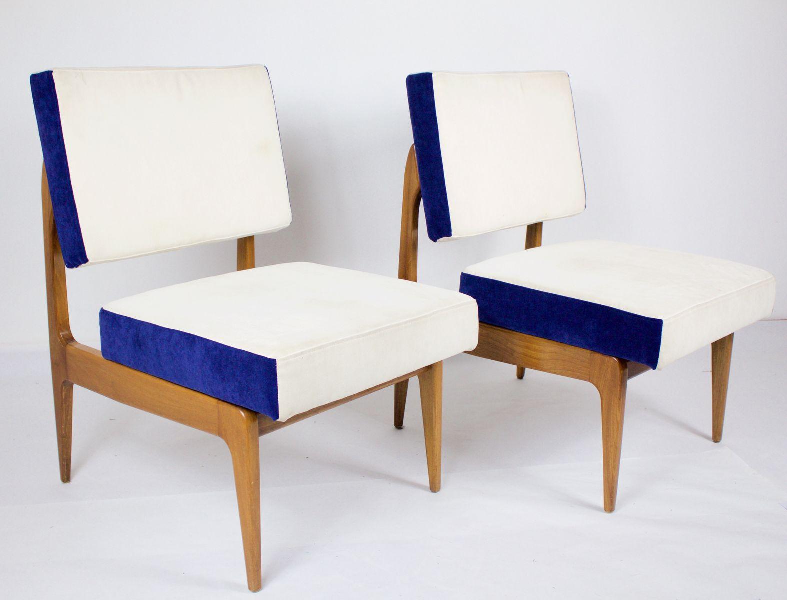 italienische st hle 1960er 2er set bei pamono kaufen. Black Bedroom Furniture Sets. Home Design Ideas