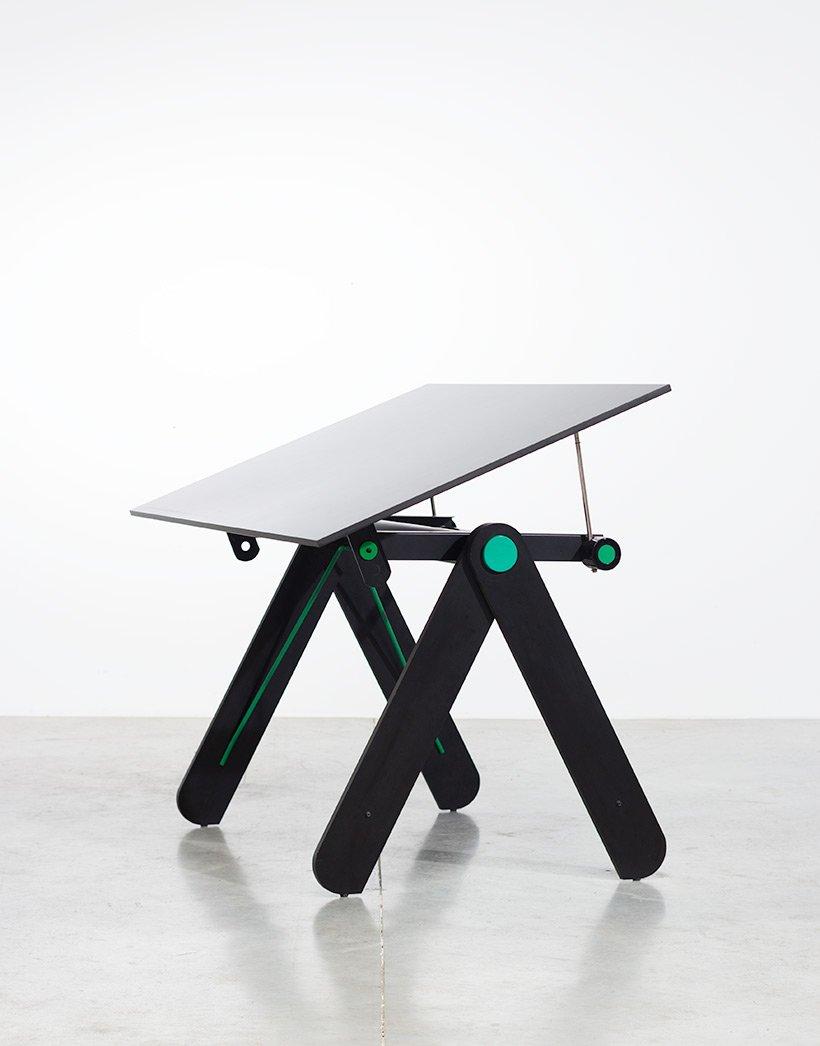 Schreibtisch von paolo parigi 1975 bei pamono kaufen for Schreibtisch 2 meter lang