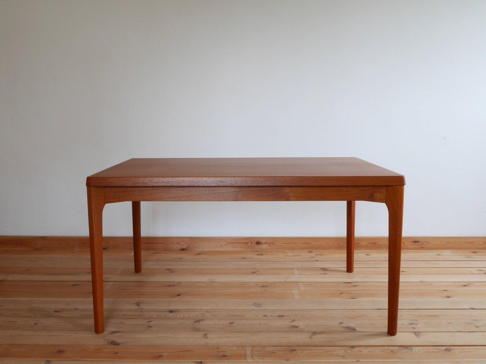 Danish Teak Dining Table By Henning Kjærnulf For Vejle Stole OG  Møbelfabrik, 1960s