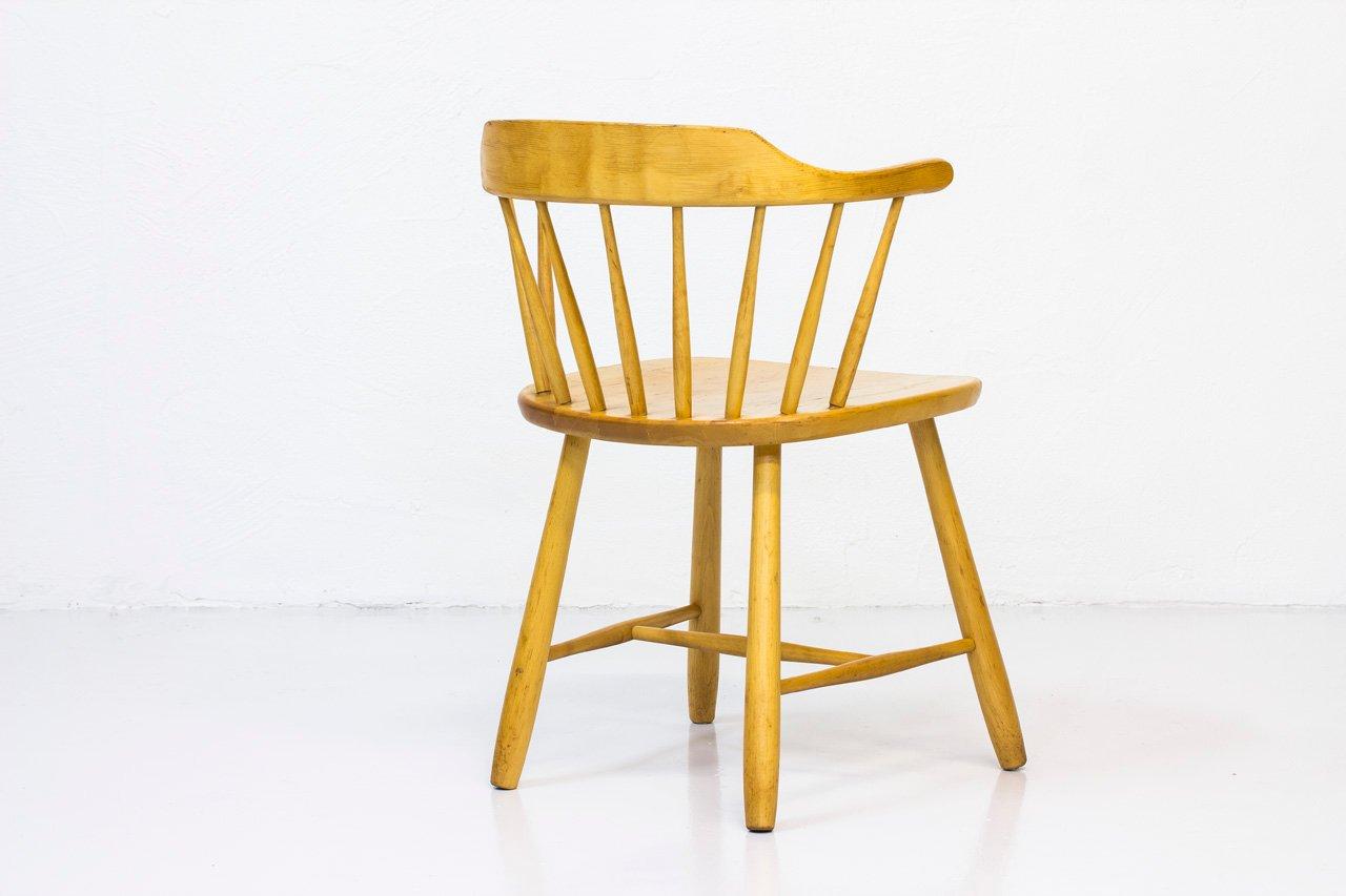 Småland Armlehnstühle von Yngve Ekström für Stolab, 1960er, 4er Set bei Pamono kaufen