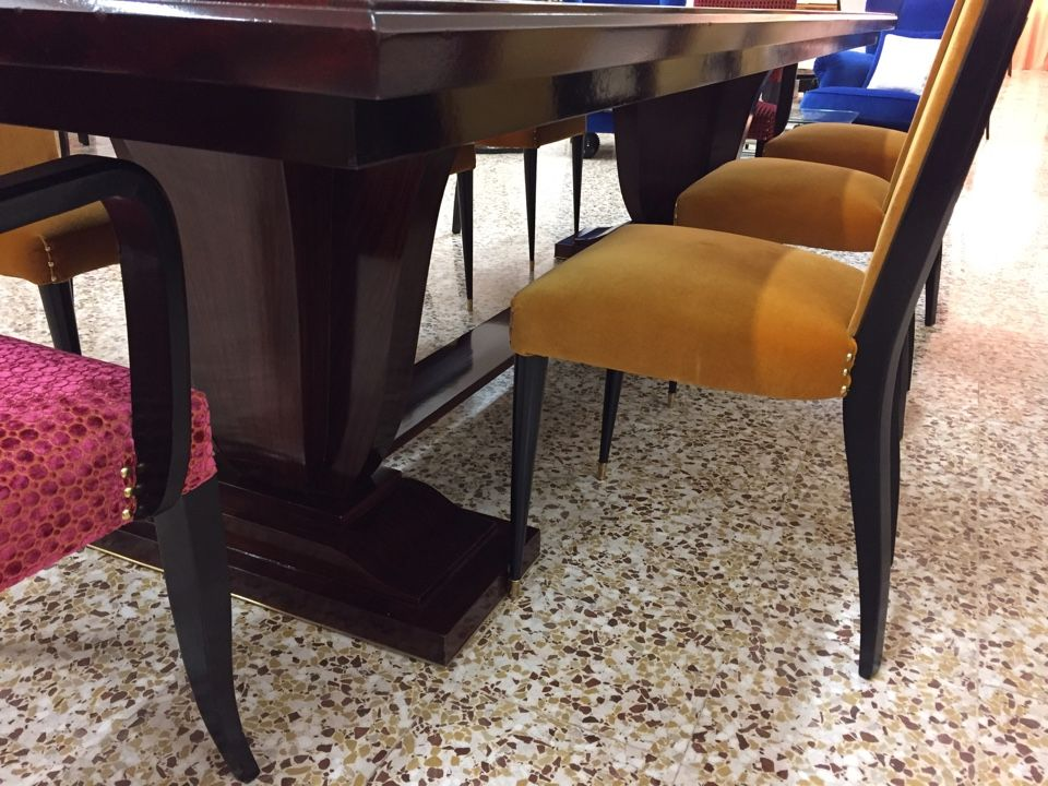 large french art deco dining table 1940s for sale at pamono  rh   pamono com