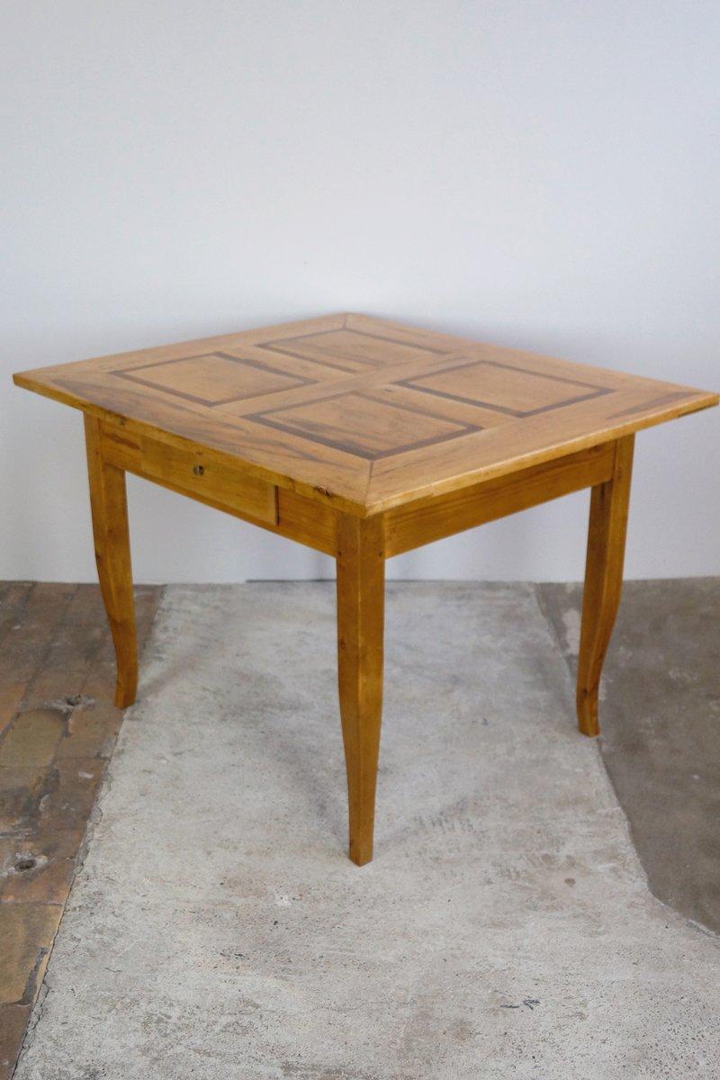biedermeier ahorn esstisch 1830er bei pamono kaufen. Black Bedroom Furniture Sets. Home Design Ideas