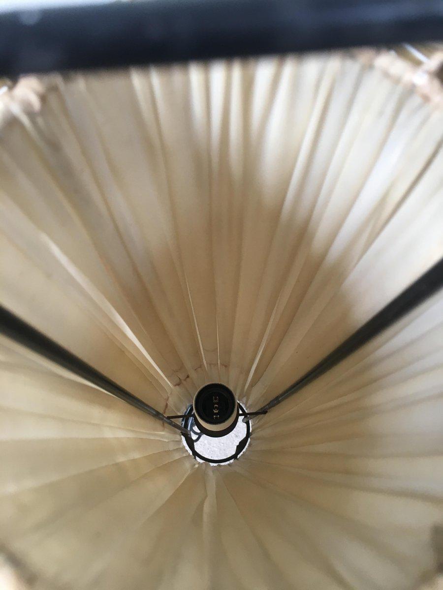 italienische stehlampe mit geflochtenem band 1950er bei pamono kaufen. Black Bedroom Furniture Sets. Home Design Ideas