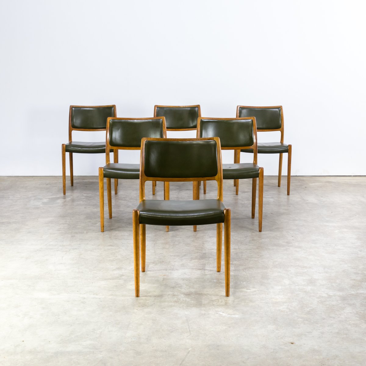 80 chairs by niels otto moller for j l m llers 1960s for 80s furniture for sale
