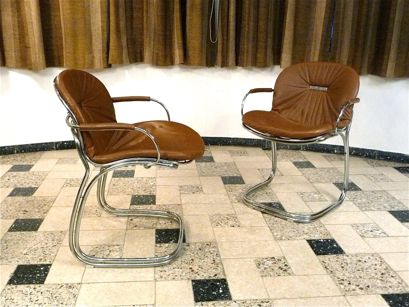 sabrina leder esszimmer st hle von gastone rinaldi f r rima 1970er 6er set bei pamono kaufen. Black Bedroom Furniture Sets. Home Design Ideas