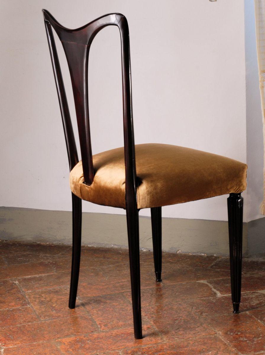 esszimmerst hle 1940er 6er set bei pamono kaufen. Black Bedroom Furniture Sets. Home Design Ideas