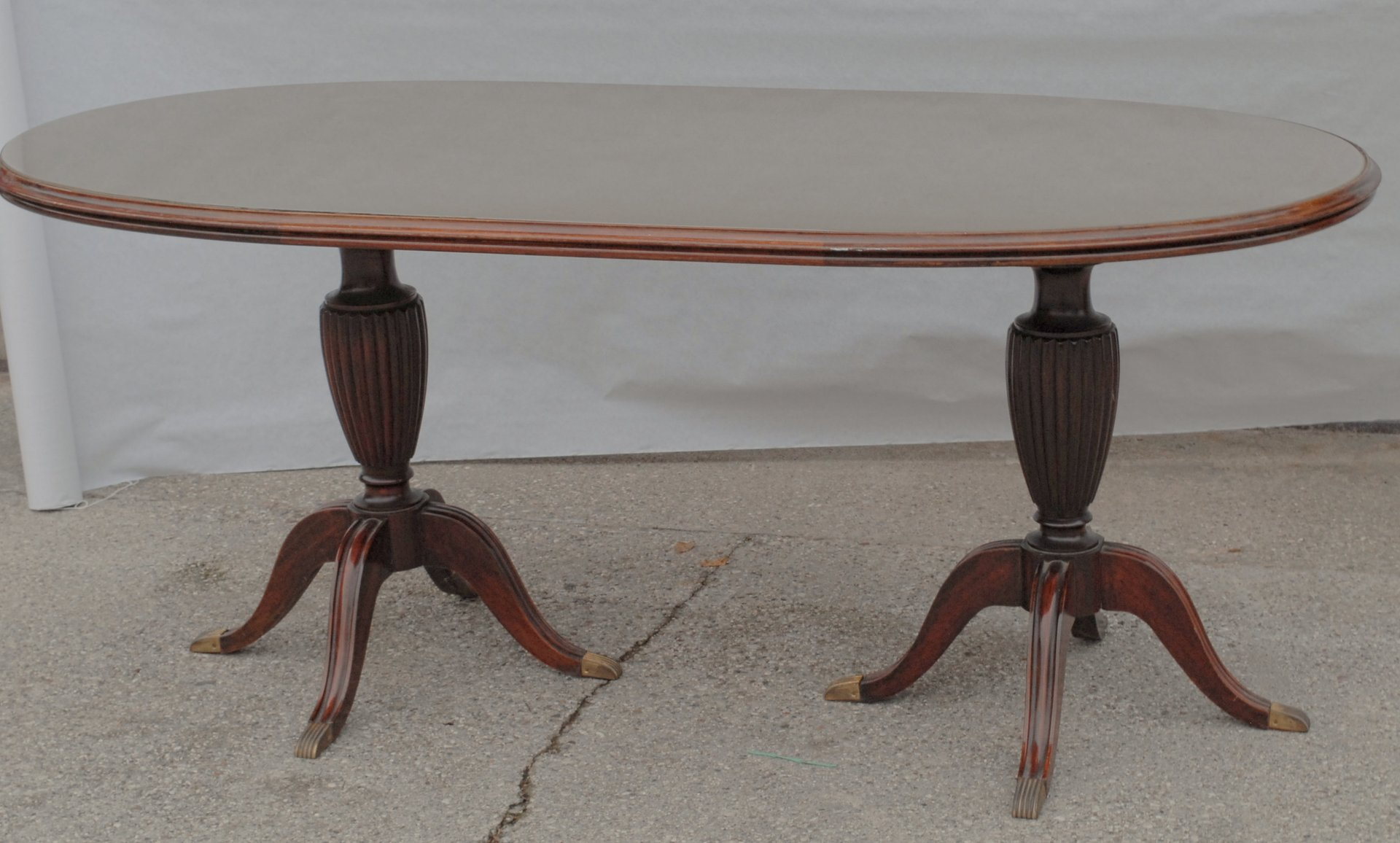 Vintage Oval Mahogany Dining Table 9. $3,612.00. Price Per Piece