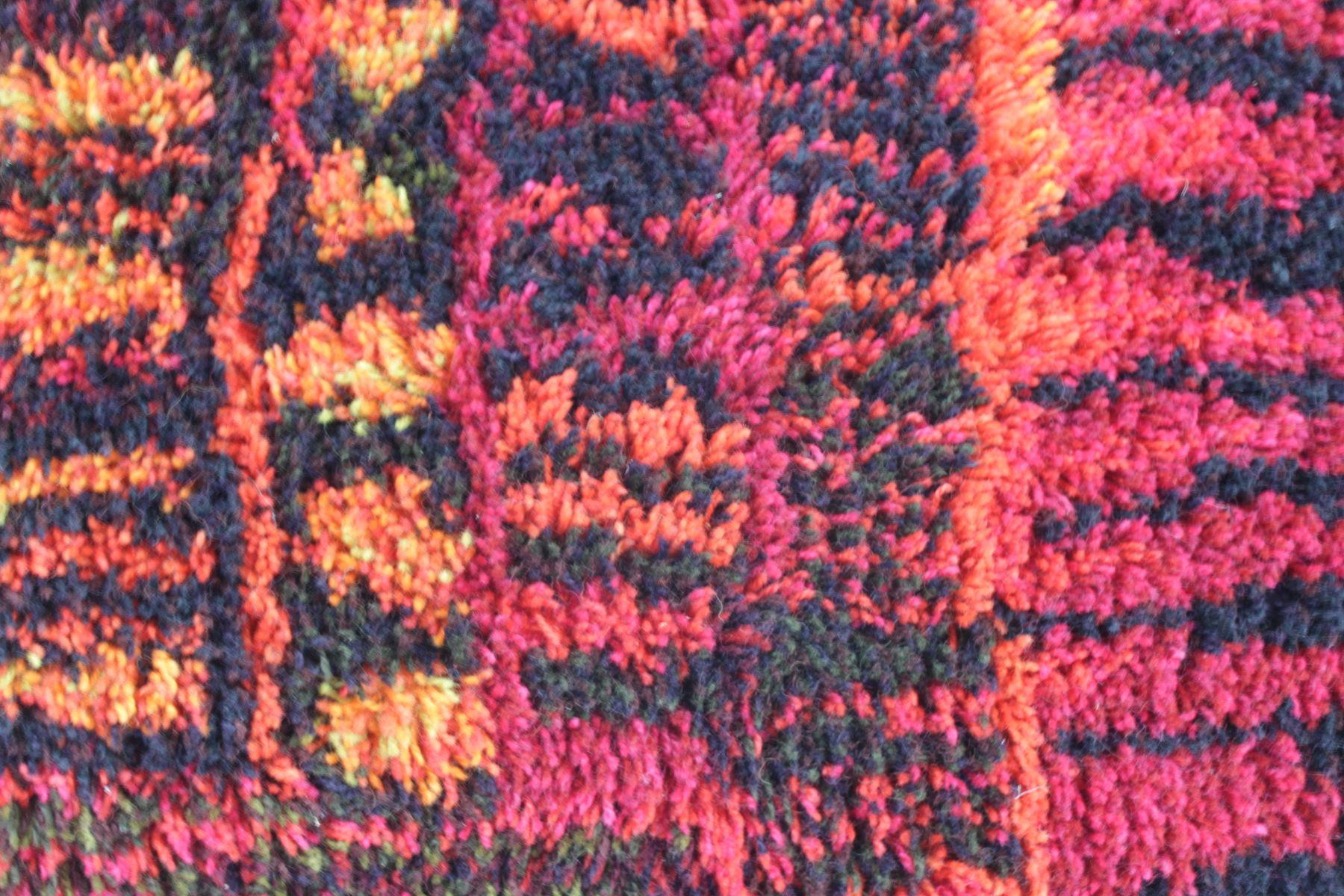 skandinavischer mid century teppich bei pamono kaufen. Black Bedroom Furniture Sets. Home Design Ideas