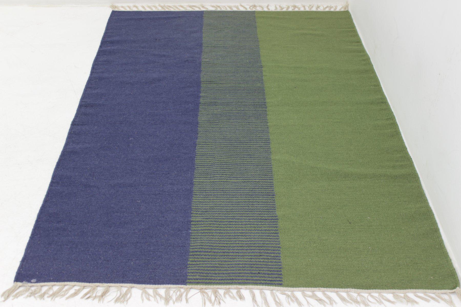moderner mid century teppich mit geometrischem muster bei pamono kaufen. Black Bedroom Furniture Sets. Home Design Ideas