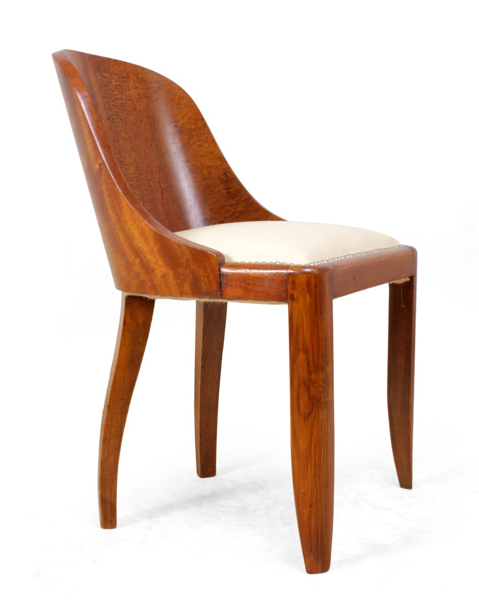 Art deco dining chairs 1920s set of 6 for sale at pamono for Deco 6 brumath