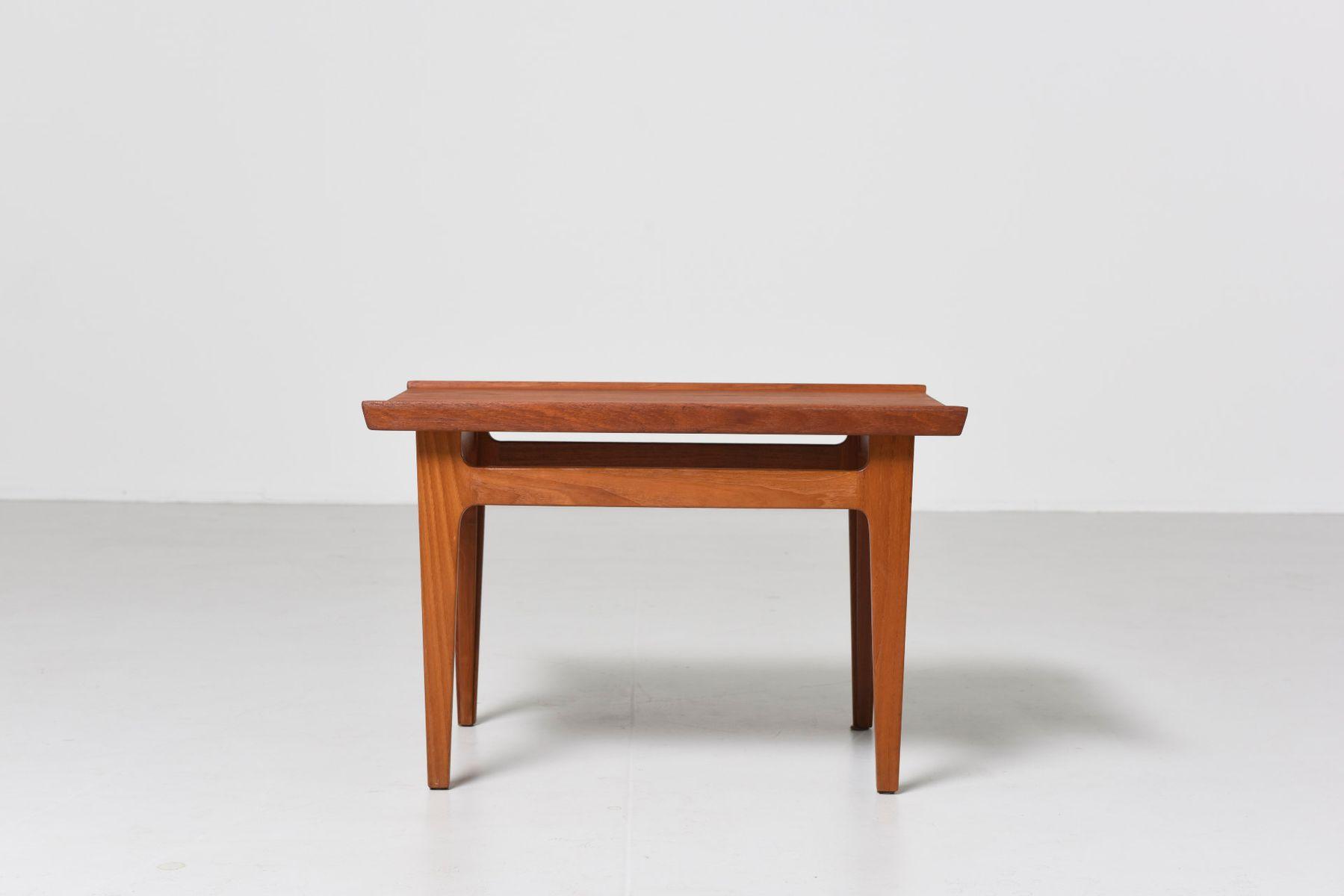 Vintage Side Table In Teak By Finn Juhl For France Søn