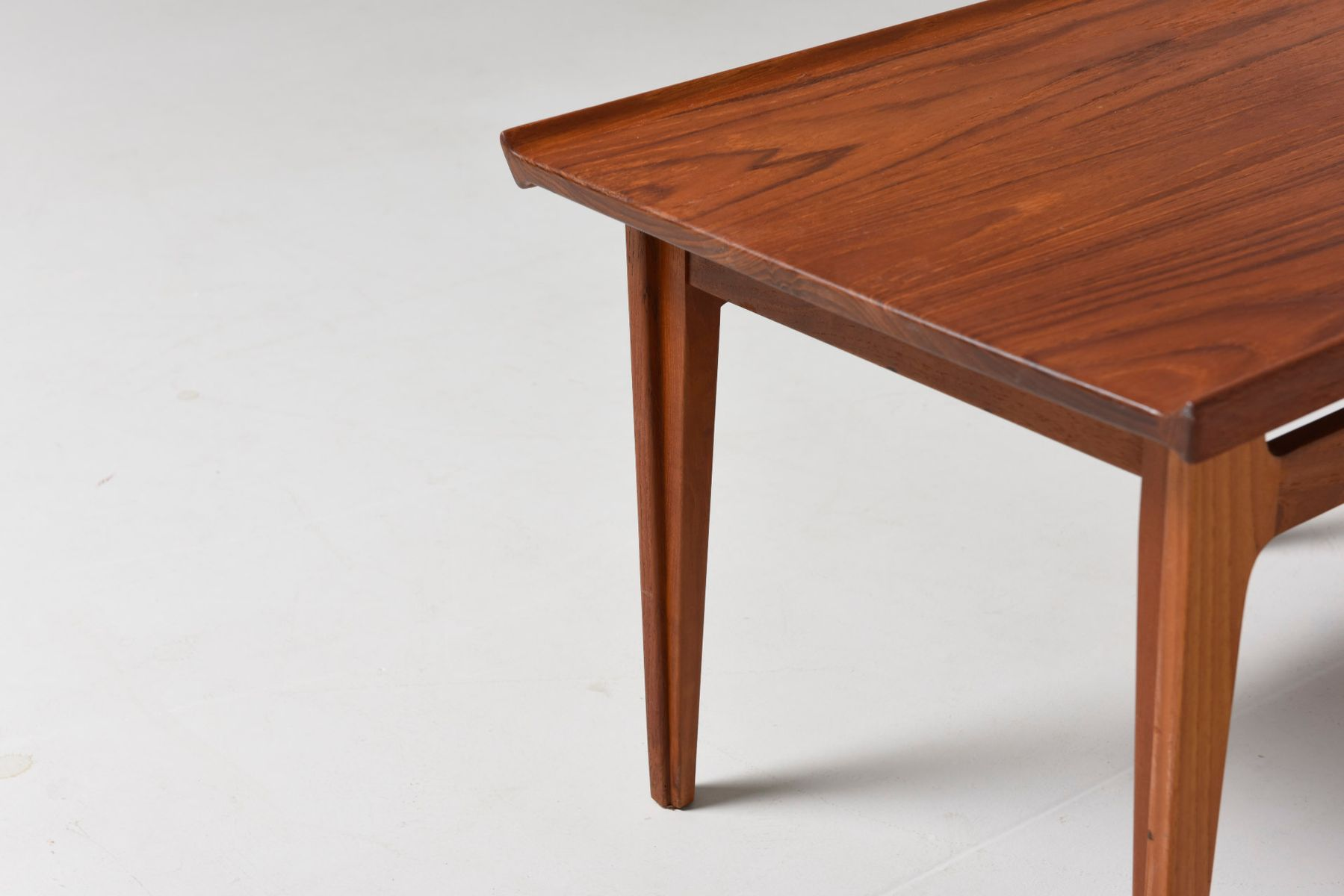 Vintage Side Table in Teak by Finn Juhl for France Sn for sale at