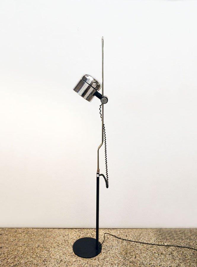 stehlampe mit verstellbarem verchromten schirm von philips. Black Bedroom Furniture Sets. Home Design Ideas