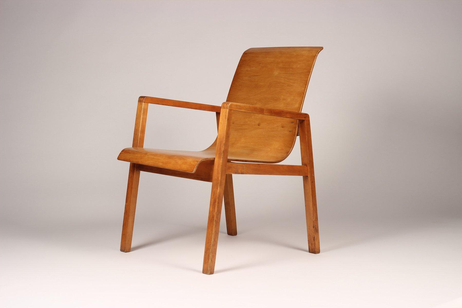 modell nr 403 stuhl von alvar aalto f r finmar 1930er bei pamono kaufen. Black Bedroom Furniture Sets. Home Design Ideas