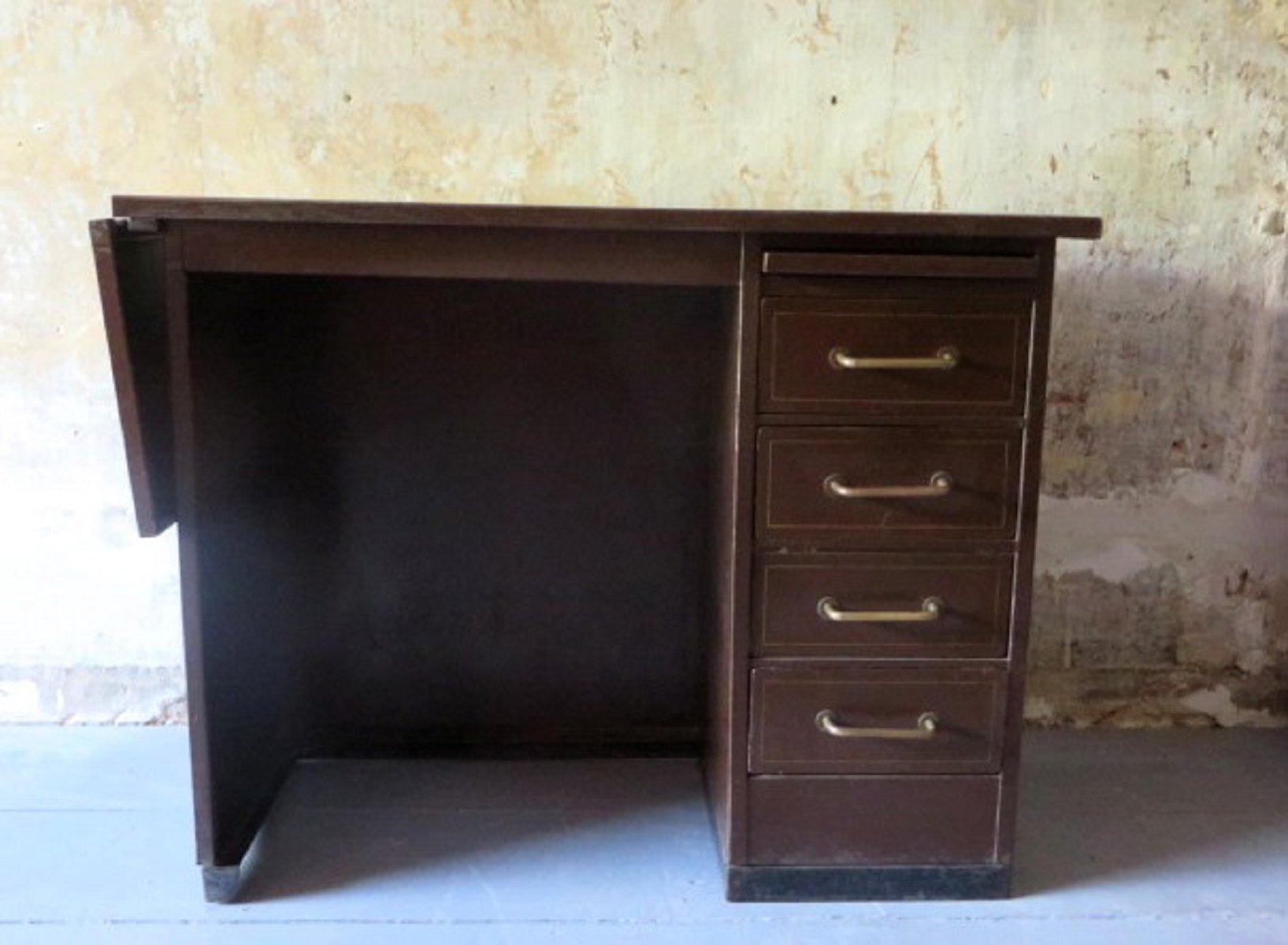 petit bureau industriel en m tal de roneo 1960s en vente sur pamono. Black Bedroom Furniture Sets. Home Design Ideas