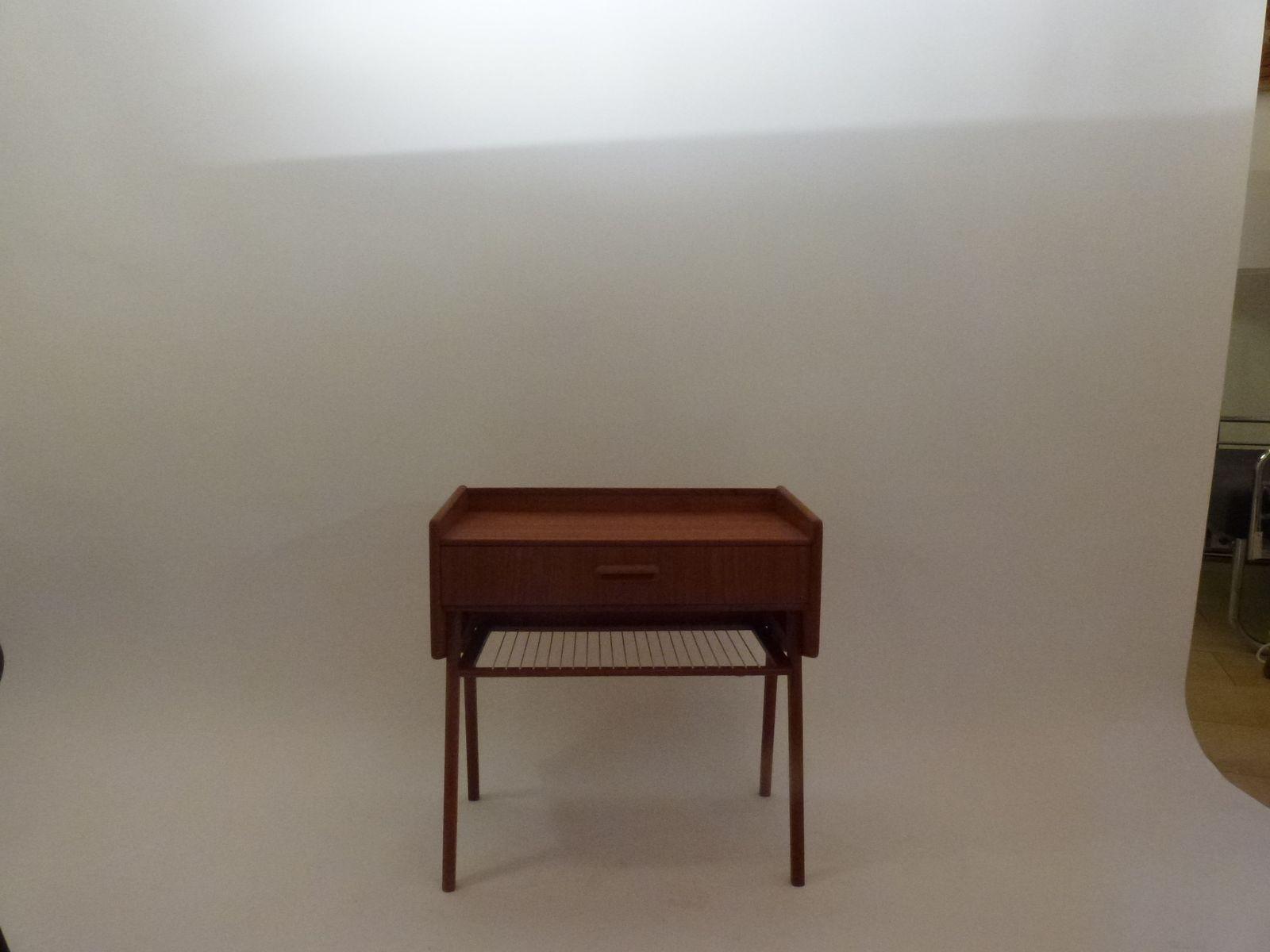 Danish Side Table, 1960s