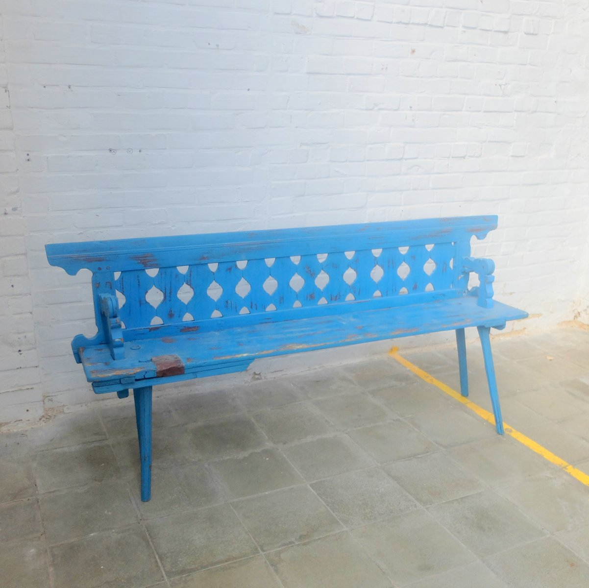 Antique Hungarian Bench for sale at Pamono