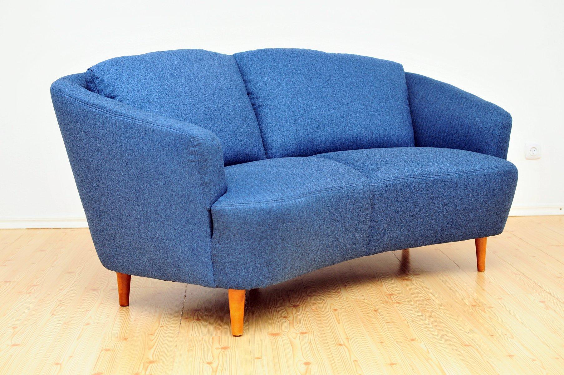 mid century zwei sitzer sofa 1950er bei pamono kaufen. Black Bedroom Furniture Sets. Home Design Ideas