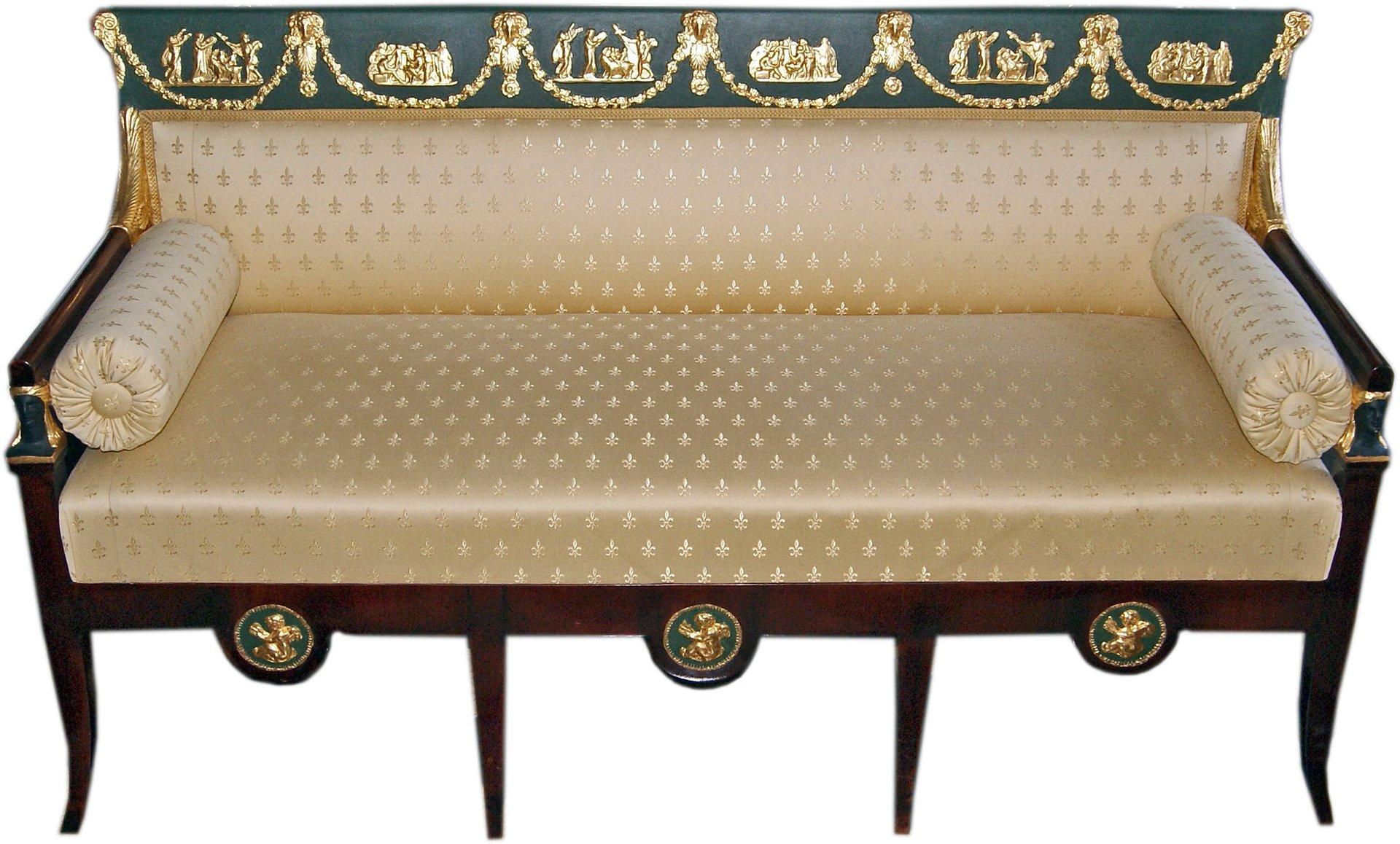 Antique Living Room Set by Josef Ulrich Danhauser for Danhauser ...