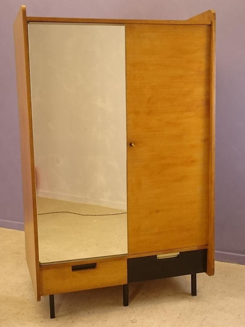 vintage kleiderschrank bei pamono kaufen. Black Bedroom Furniture Sets. Home Design Ideas