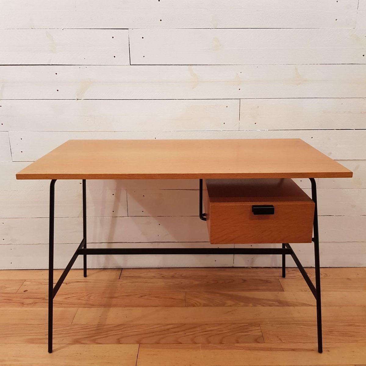 bureau cm178 par pierre paulin pour thonet 1950s en vente sur pamono. Black Bedroom Furniture Sets. Home Design Ideas