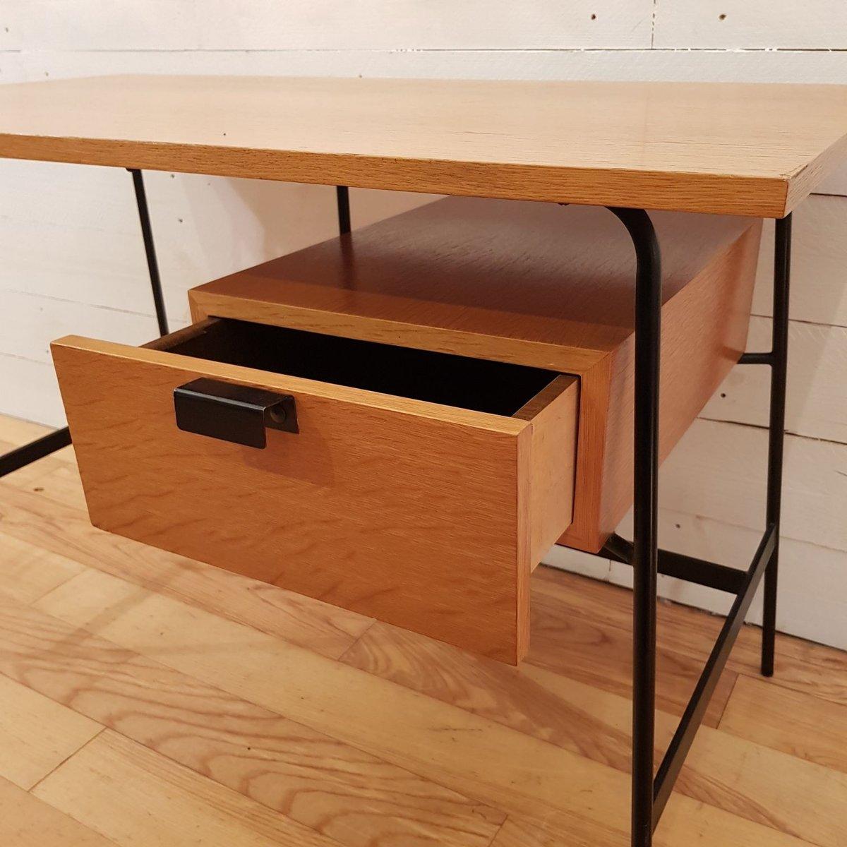 bureau cm178 par pierre paulin pour thonet 1950s en vente. Black Bedroom Furniture Sets. Home Design Ideas