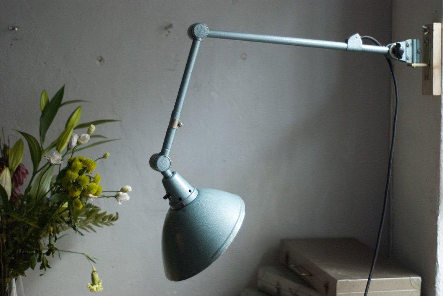 t rkise vintage wandlampe von curt fischer f r midgard bei pamono kaufen. Black Bedroom Furniture Sets. Home Design Ideas