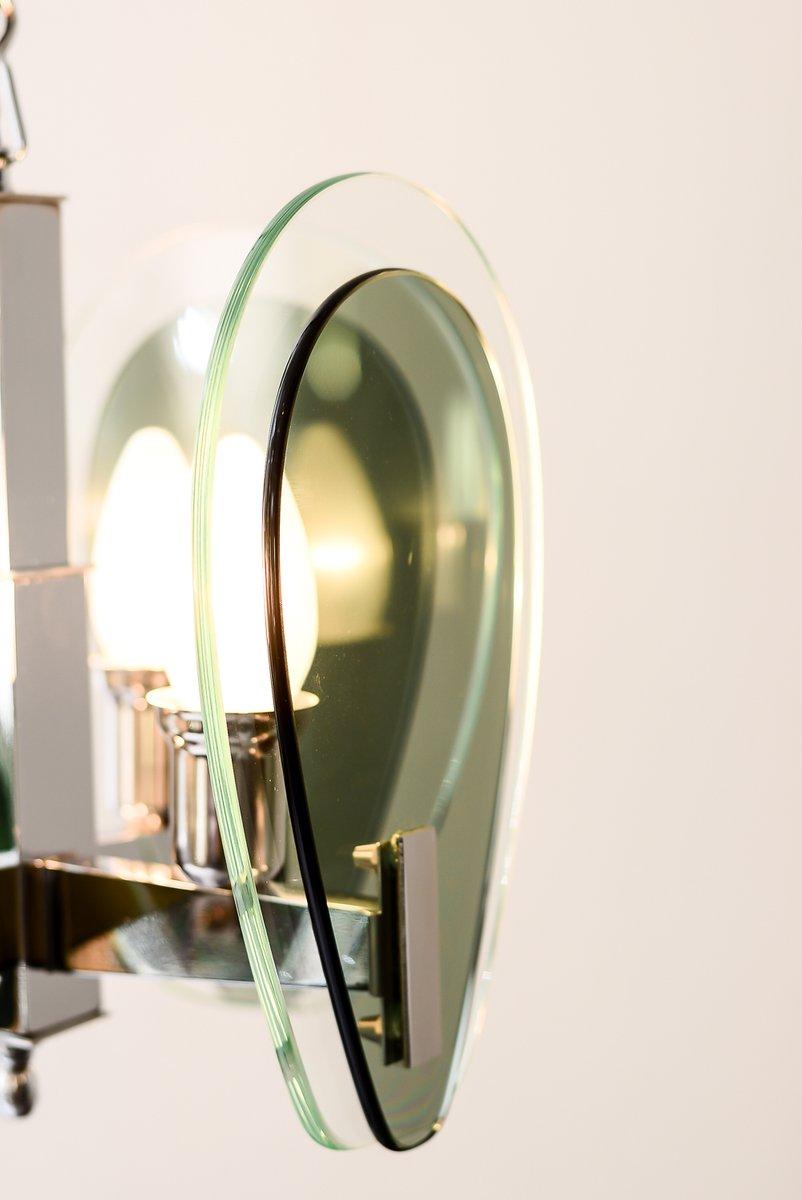 vintage glas h ngelampe bei pamono kaufen. Black Bedroom Furniture Sets. Home Design Ideas